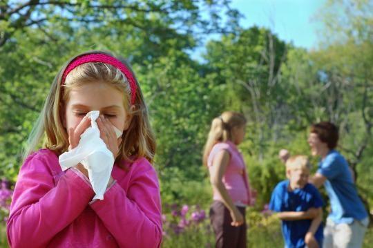 Tο αλλεργικό παιδί στις διακοπές